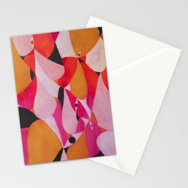 Abstract human landscape Stationery Cards