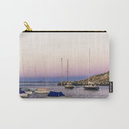 Earth's shadow over the harbor Carry-All Pouch