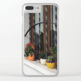 Windowsill in Milan Clear iPhone Case