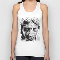 Face from the past Unisex Tank Top