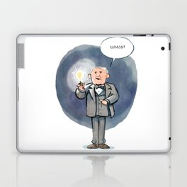 Thomas Edison - Lumos! Laptop & iPad Skin