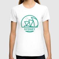 sydney T-shirts featuring Sydney by BMaw