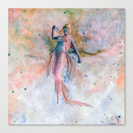 Space Siren Canvas Print