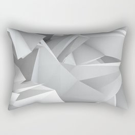 White Noiz Rectangular Pillow