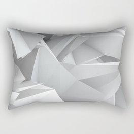 White Noiz Rectangular Pillow