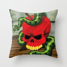 The Sinner Throw Pillow