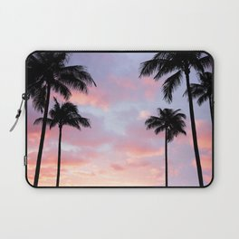 Palm Trees and Sunset Laptop Sleeve