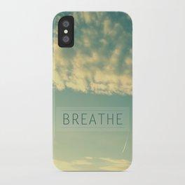 Breathe iPhone Case