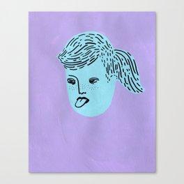 Super Tongue Canvas Print