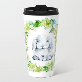 Bunny Baby Metal Travel Mug
