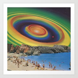 Supergraphic Summer - The Color of Summer 2 Art Print