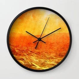 Planet Mercury Wall Clock