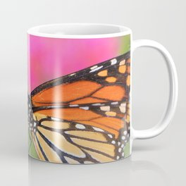 Butterfly Pink Floral by Reay of Light Photography Coffee Mug