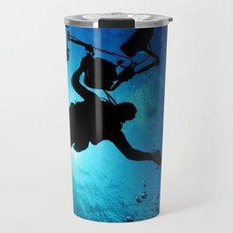 Scuba Diver Cameraman Travel Mug