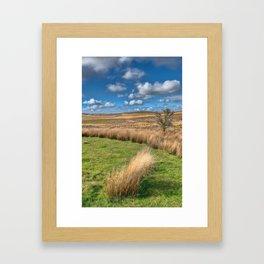Mynydd Hiraethog Framed Art Print