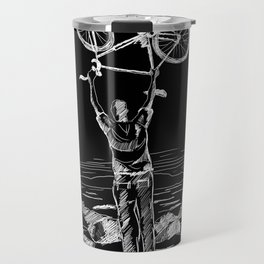 Bike Contemplation Travel Mug