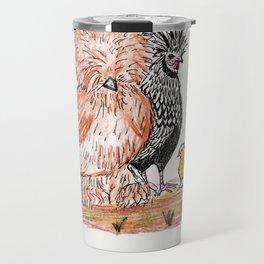 A bunch of Chickens Travel Mug