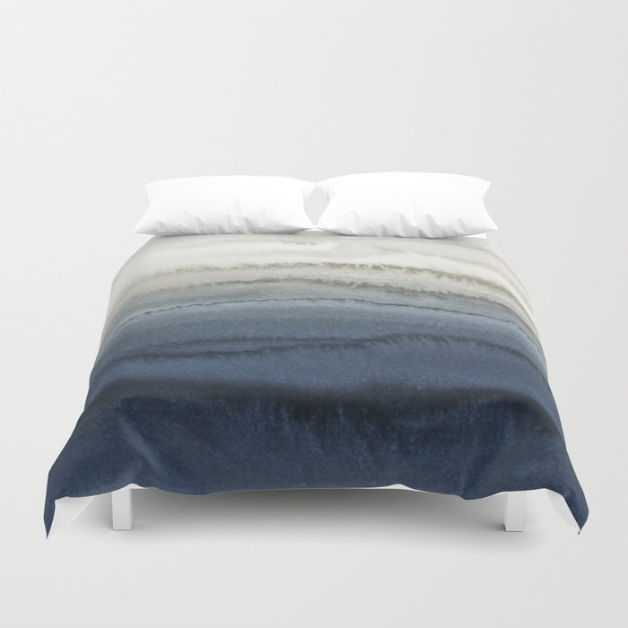 WITHIN THE TIDES - CRUSHING WAVES BLUE Duvet Cover