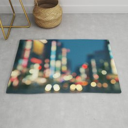 Blurred Traffic Rug