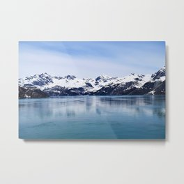 Shot in Alaska Metal Print