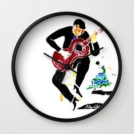Spanish Interlude      by Kay Lipton Wall Clock
