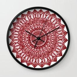 Sunshine-Garnet Wall Clock