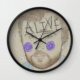 Max Bemis Wall Clock