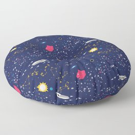Way to Earth Floor Pillow