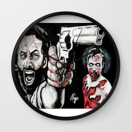 Waking Dead Rick Grimes Wall Clock