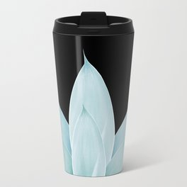Green Agave on Black #1 #tropical #decor #art #society6 Travel Mug