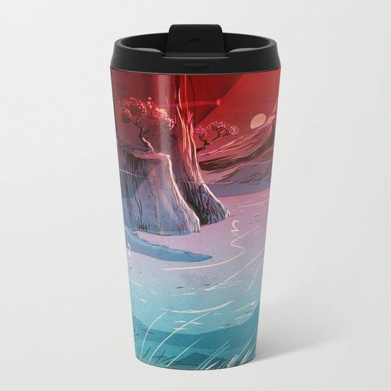 2wan Lake Metal Travel Mug