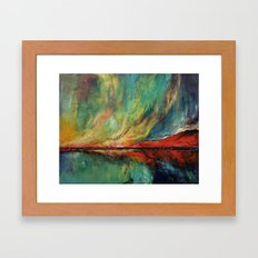 Aurora Dance Framed Art Print
