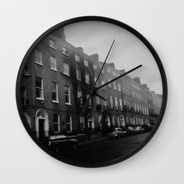 Dirty Old Town Wall Clock