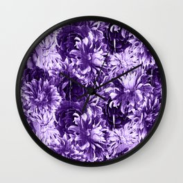 Lavender Passion Wall Clock