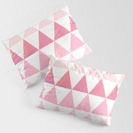 The triangles Pillow Sham