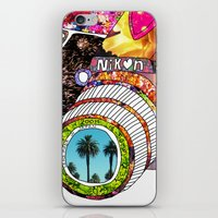 palms iPhone & iPod Skins featuring Picture This by Bianca Green