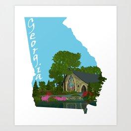 Georgia: Callaway Gardens Art Print