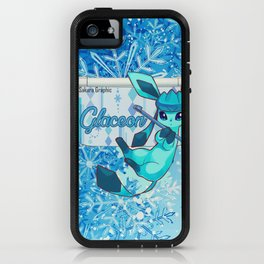 The glacial cold of glaceon iPhone Case