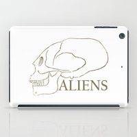 aliens iPad Cases featuring Aliens by klausbalzano