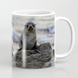 Seal Pair, Kaikoura New Zealand Coffee Mug