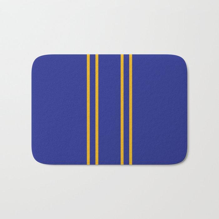Chun Li Collant Stripes Bath Mat