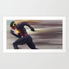 Reverse Flash Art Print