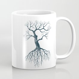 Tree without leaves Coffee Mug