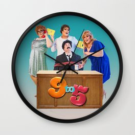 Jersey Shore: 9 To 5 Wall Clock