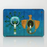 native american iPad Cases featuring Of Sky Native American by BohemianBound
