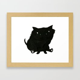 Katie's Cat Framed Art Print