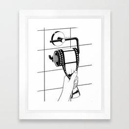 Past is shit Framed Art Print