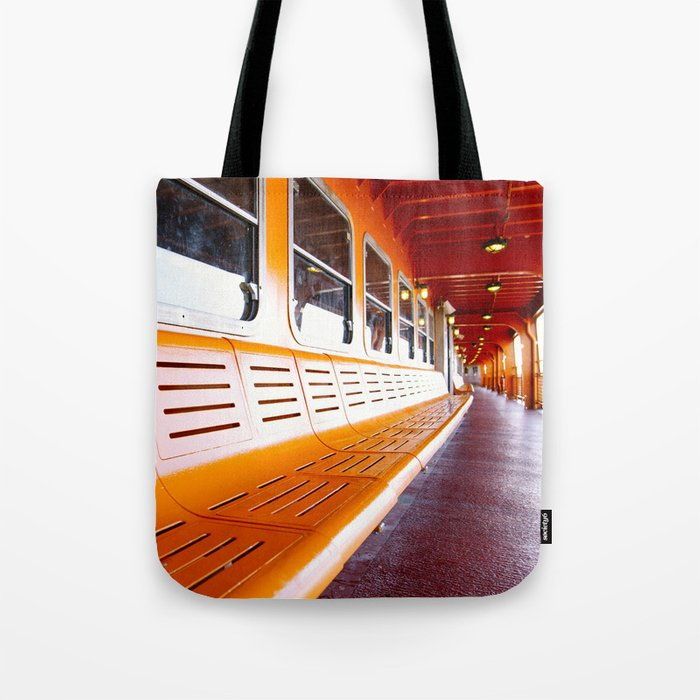 Staten Island Ferry Tote Bag