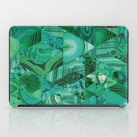 malachite iPad Cases featuring Malachite Fusion by Kiss the Sky