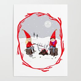 Snow and Stories Poster
